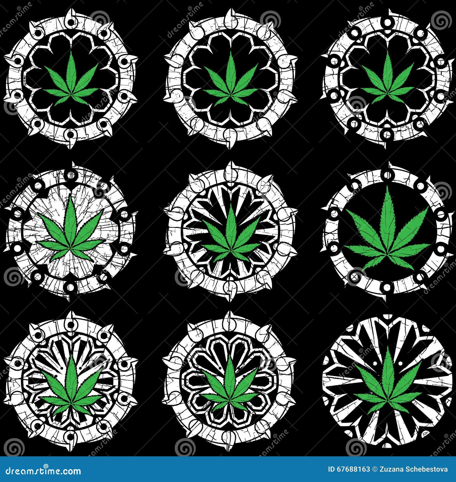 Marijuana cannabis leaf symbol on textured geometric background marijuana cannabis leaf symbol on textured geometric background biocorpaavc
