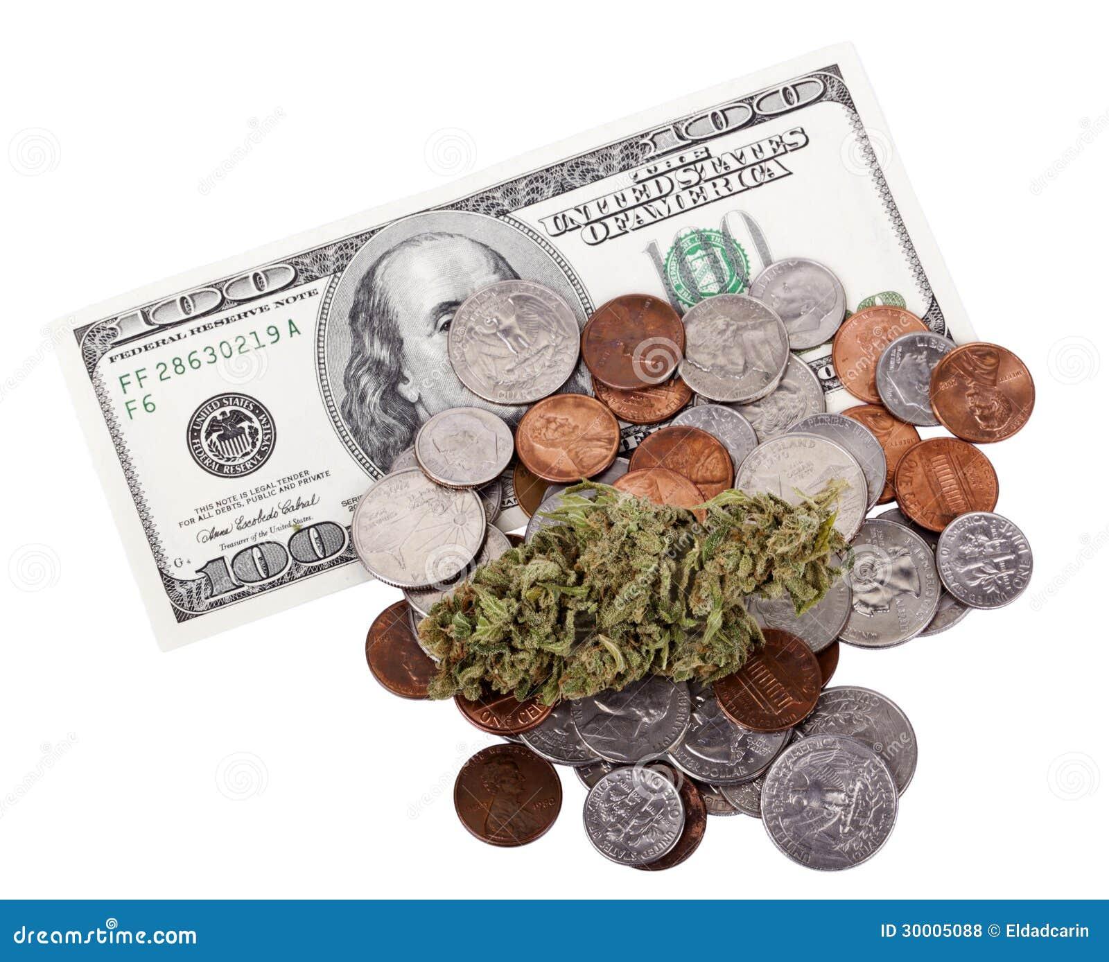 Marijuana, changement et argent liquide