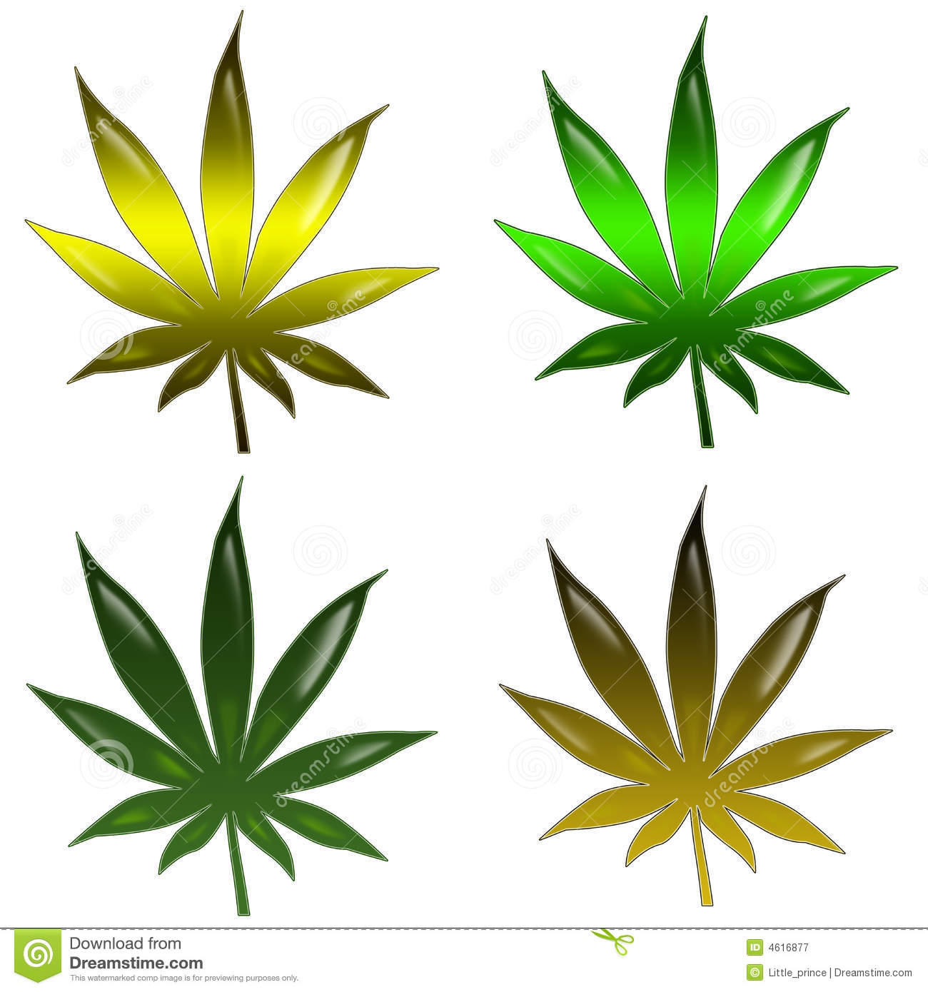 Marijuana Leaf Royalty Free Stock Photography - Image: 4616877