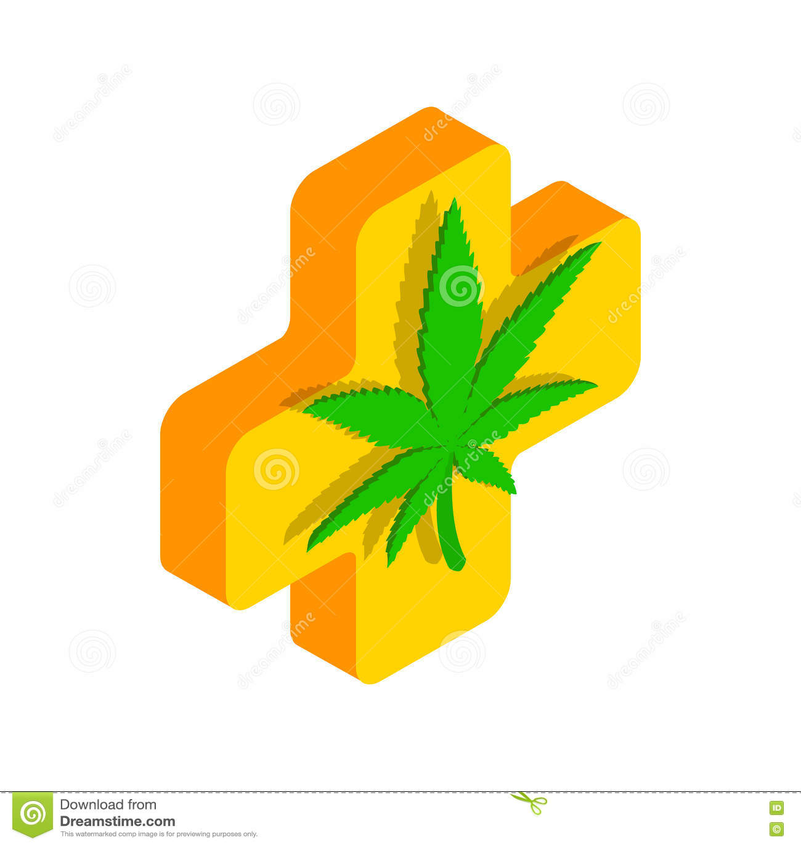 Marijuana leaf with a cross icon stock vector illustration 79521173 marijuana leaf with a cross icon biocorpaavc