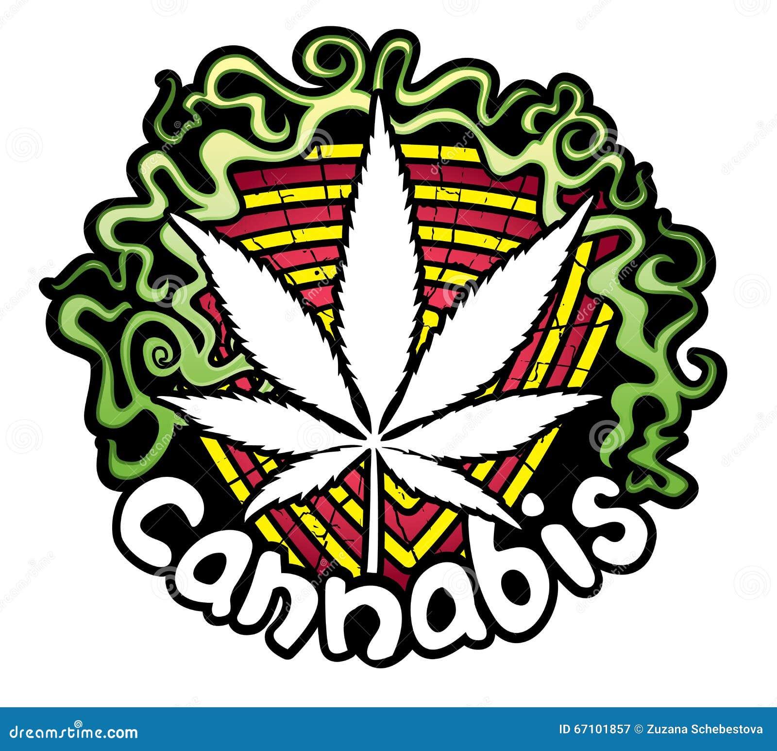 Marijuana leaf symbol design sticker stock illustration marijuana leaf symbol design sticker biocorpaavc