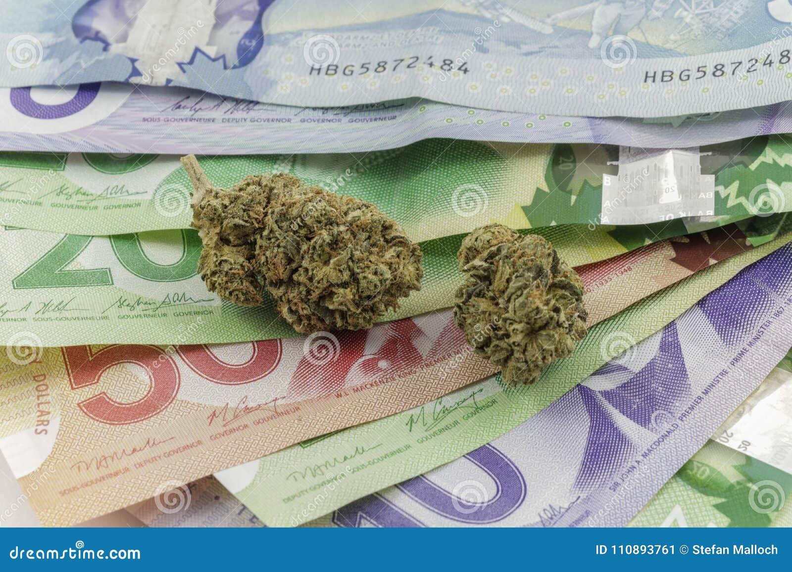 Marijuana på kanadensisk kassa