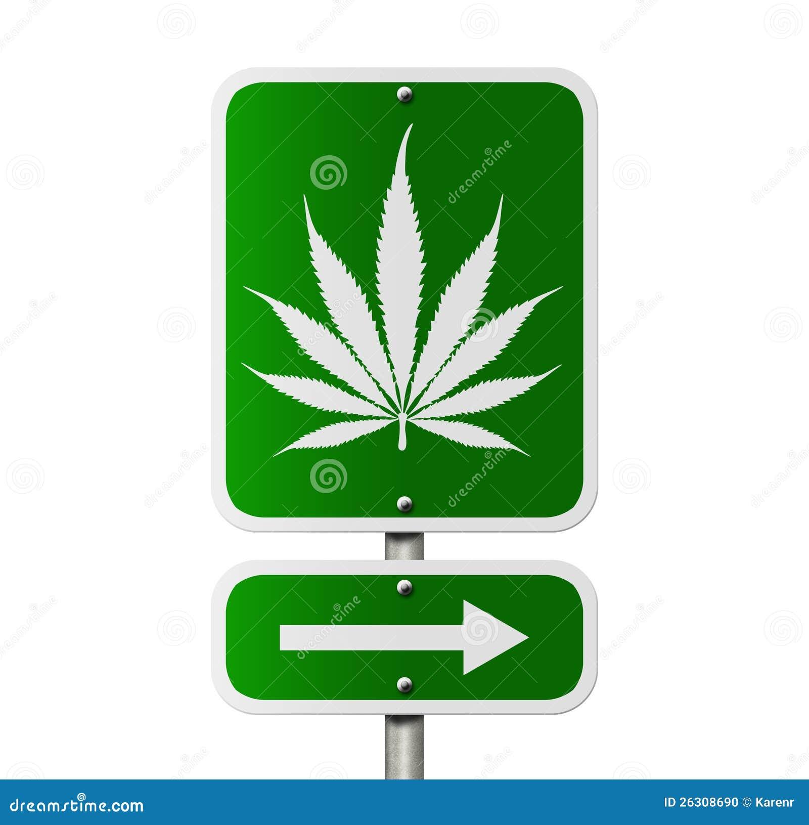 Marijuana this way