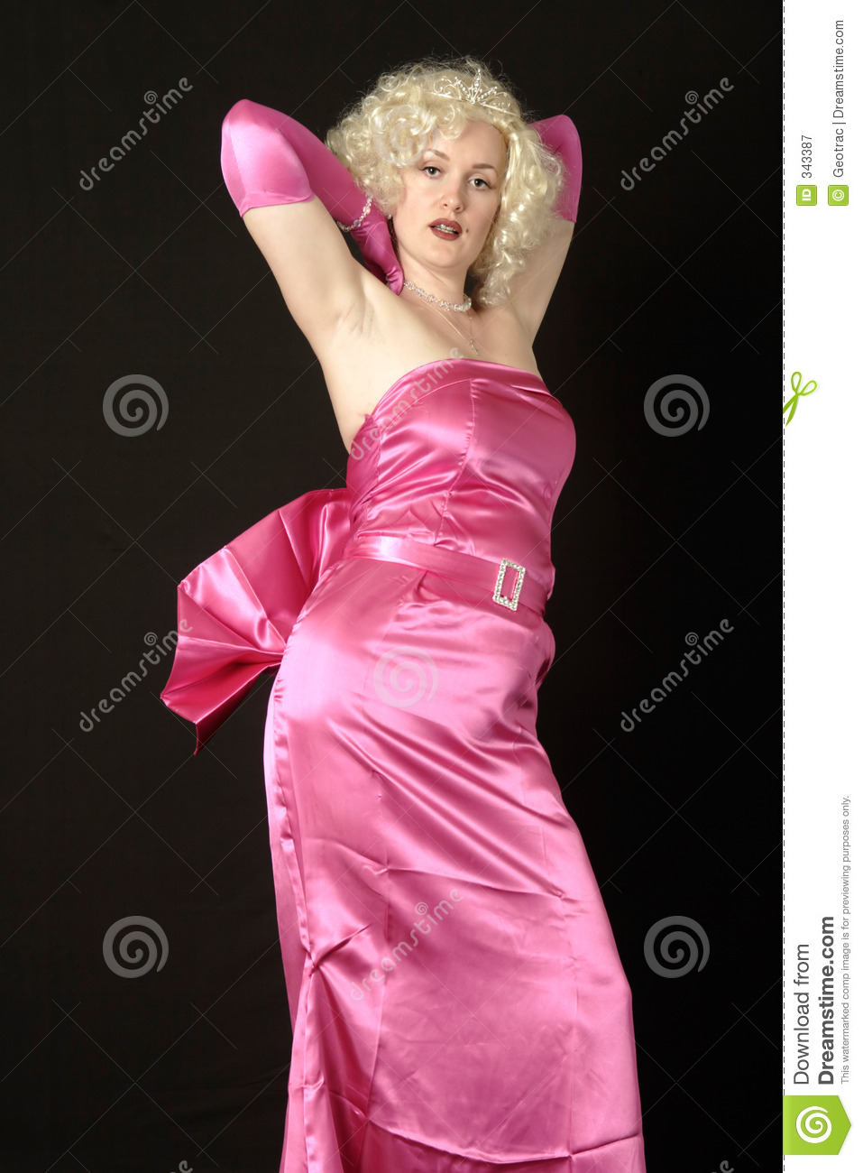 Marilyn Monroe Costume stock image. Image of pose, look ...