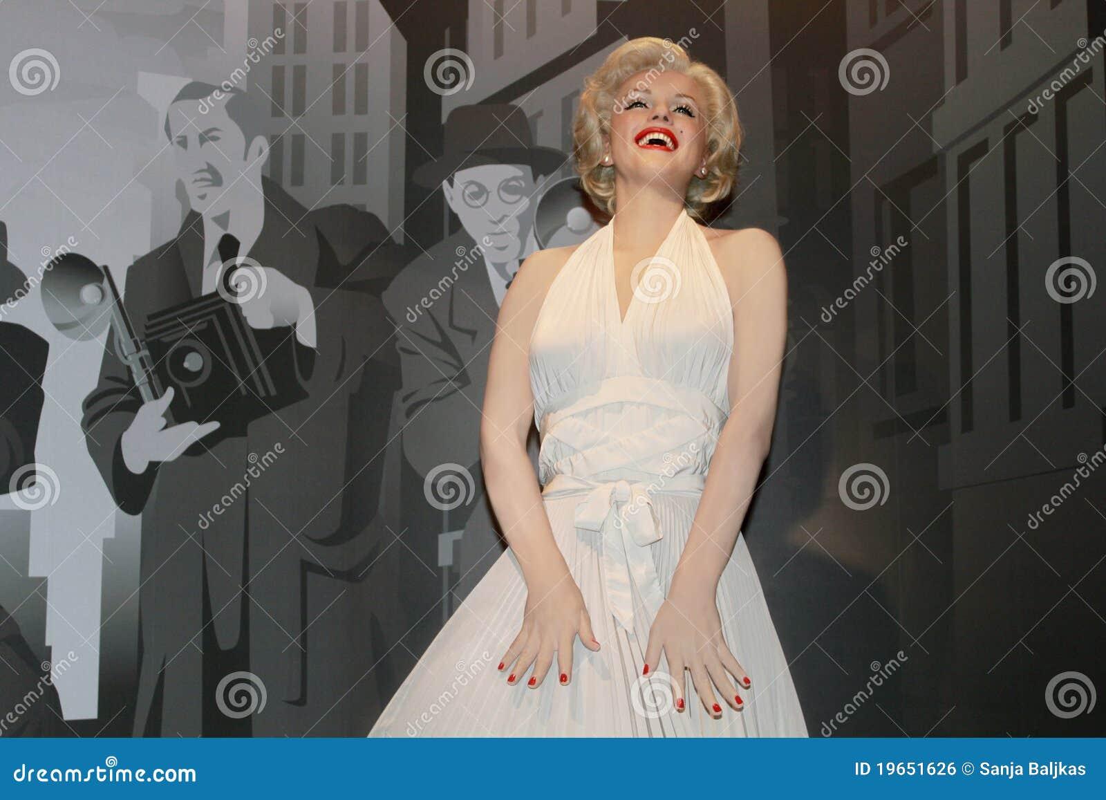 Marilyn Monroe - estátua da cera