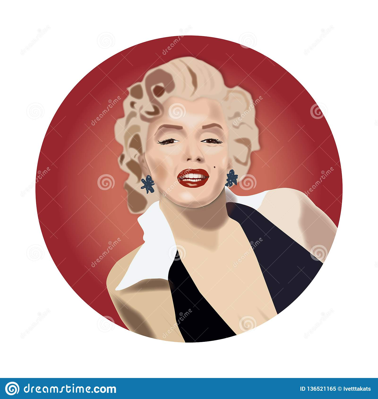 Marilyn Monroe piękna aktorka