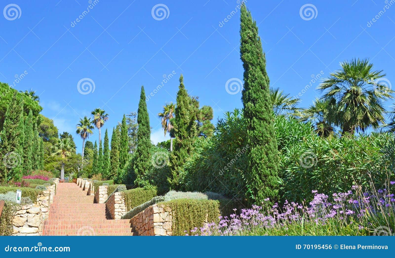 Marimurtra botaniska trädgårdar, Blanes, Spanien