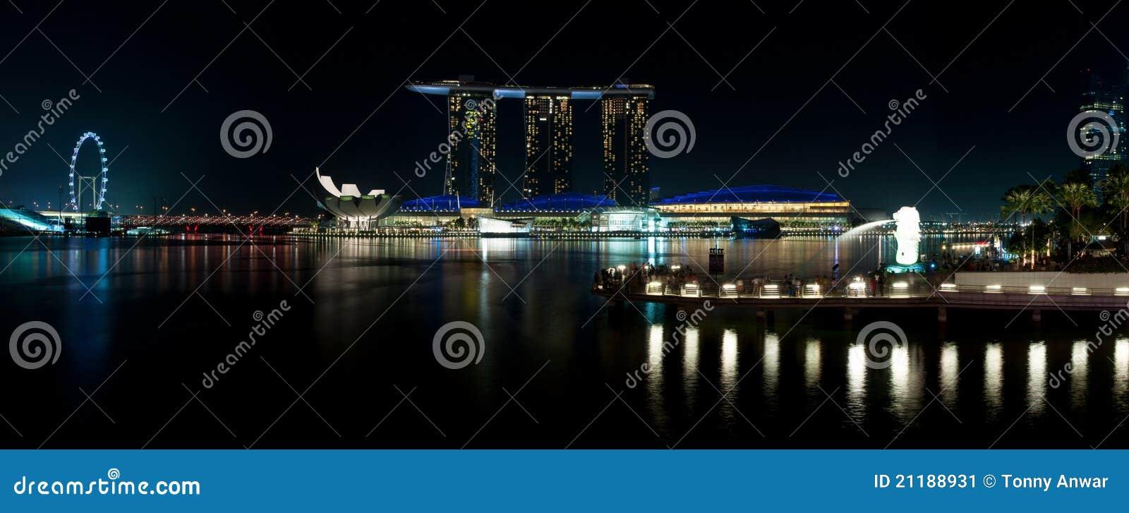 Marina Bay Attraction