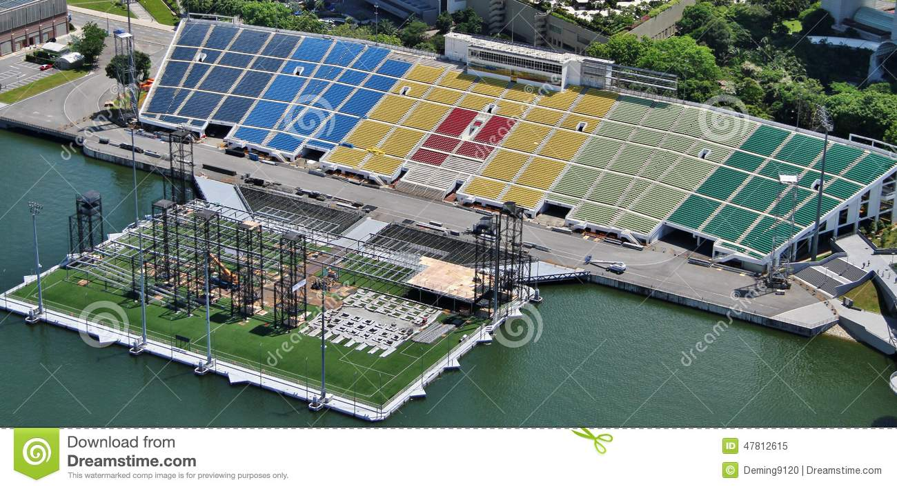 Marina Bay Floating Platform