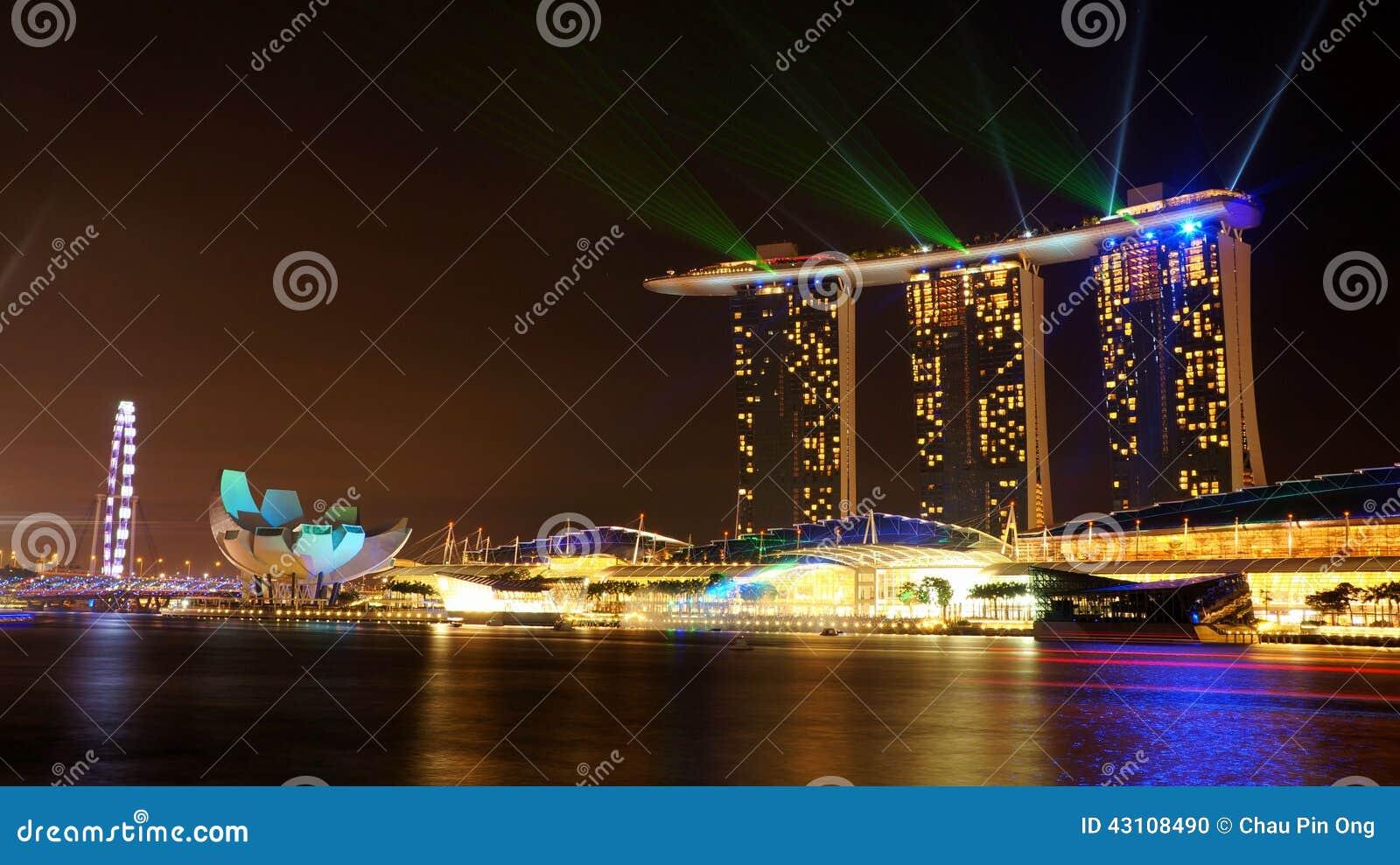 Marina Bay Sands Hotel 02 Stock Photo Image 43108490