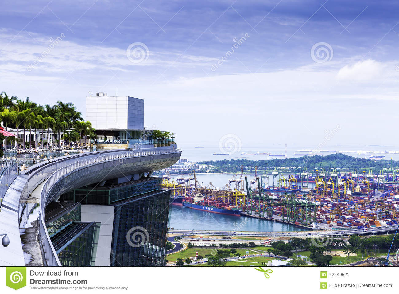 Marina bay sands hotel stunning sands skypark infinity for Singapour marina bay sands piscine