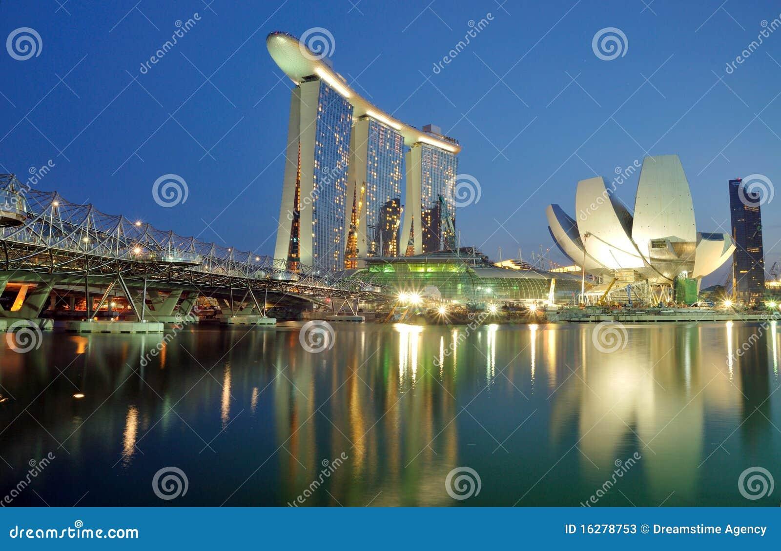 Marina Bay Sands Landscape