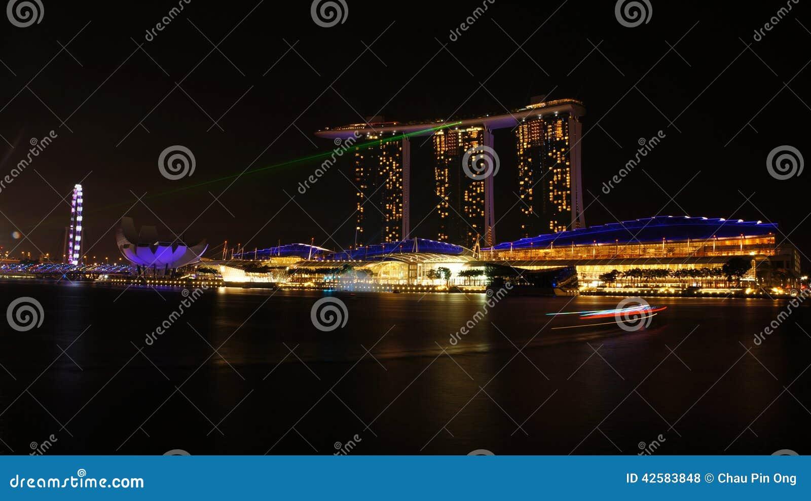 Gold Sand Casino Singapore Royalty Free Stock Image 3554