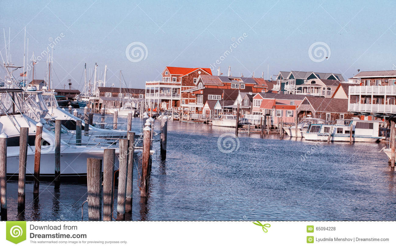 Marina in Cape May NJ US
