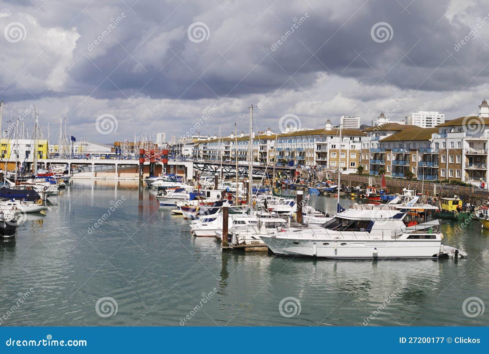 Marina de Brighton. Le Sussex. l Angleterre
