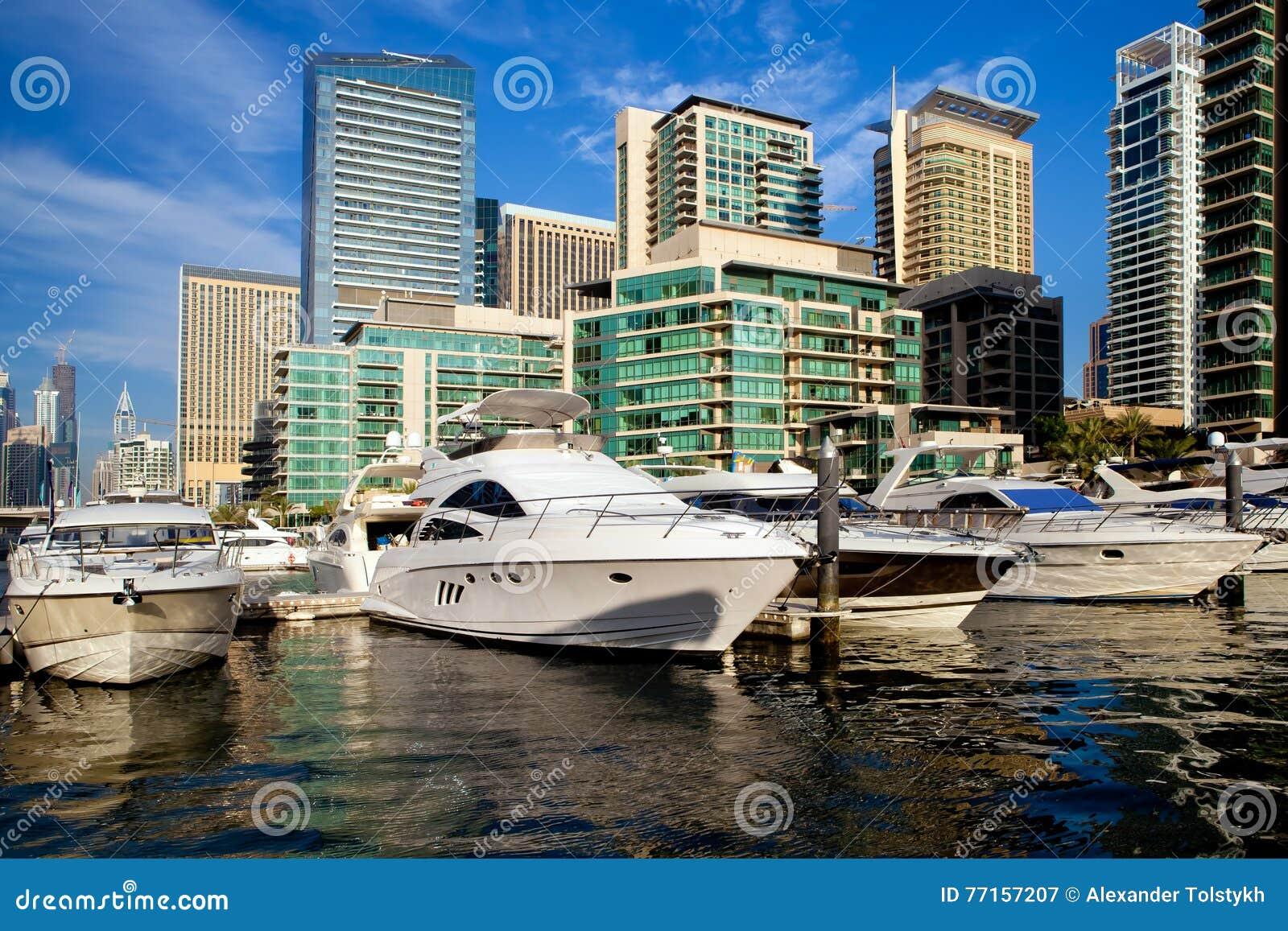 Marina de Dubaï aux EAU
