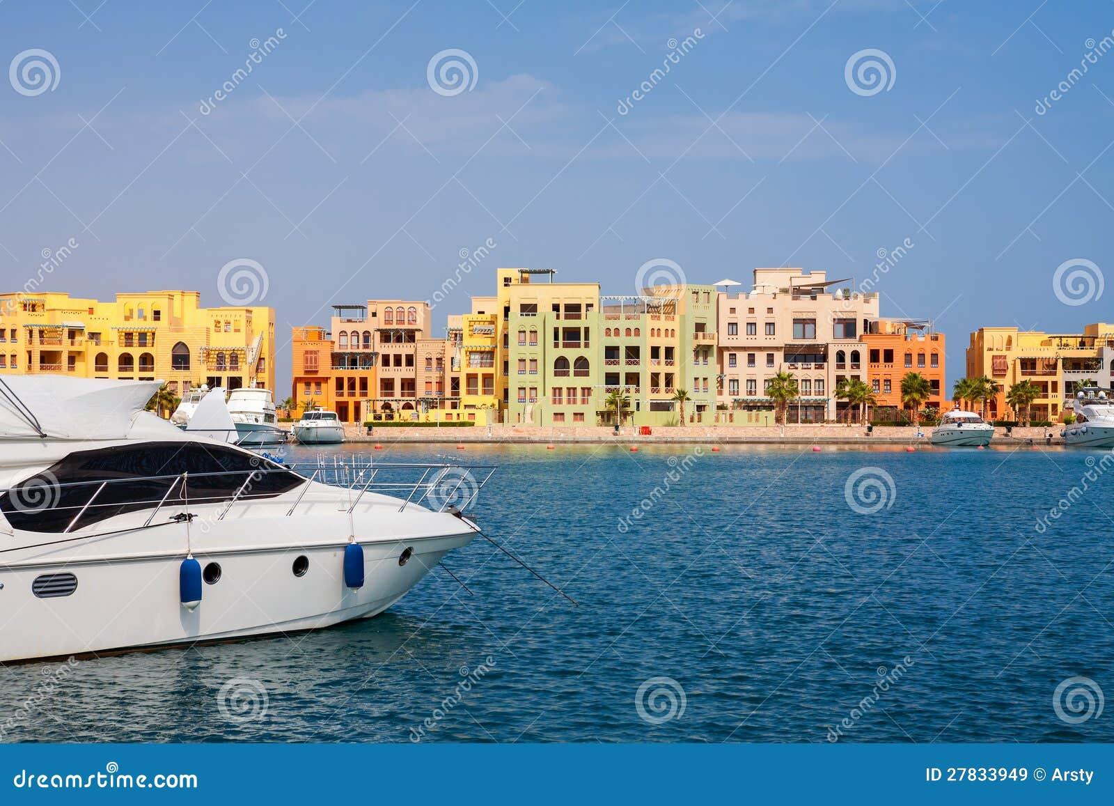 Marina el gouna egypt royalty free stock images image for Blue sea motor inn