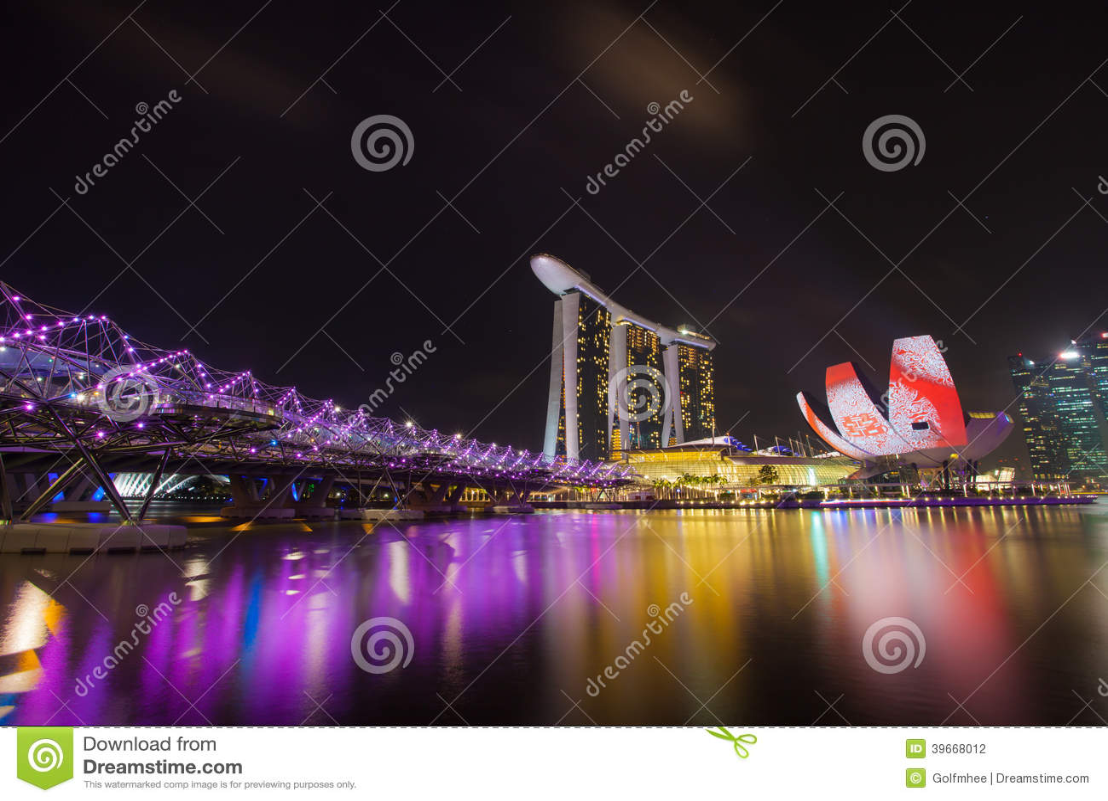 Marina Podpalani piaski, SINGAPUR