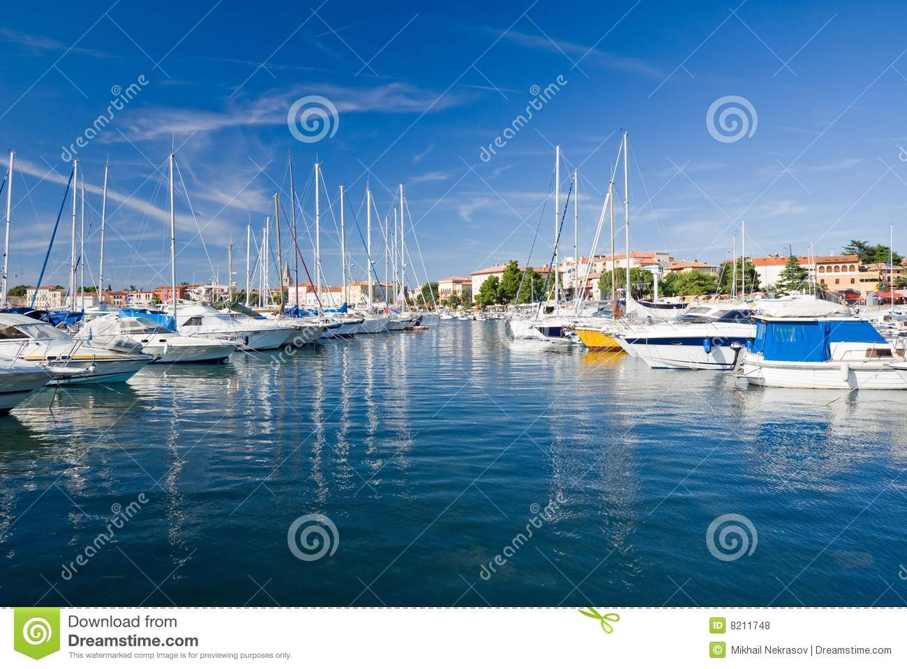 Marina of Porec