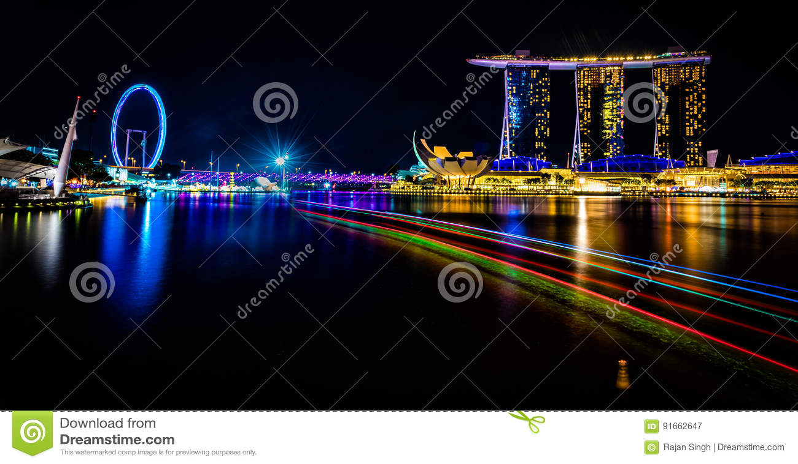 Marina Singapur i zatoki ulotka