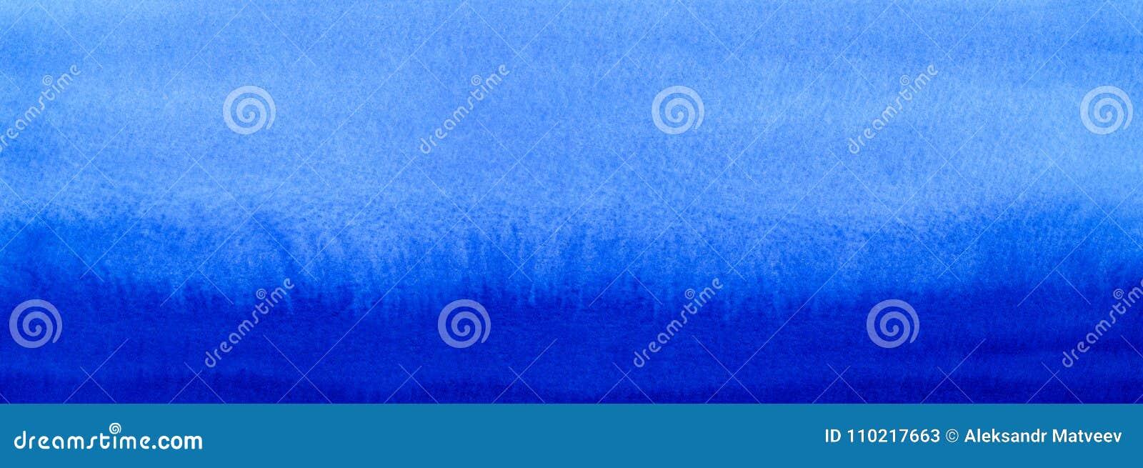 Marinaio dell insegna di web o fondo del materiale di riempimento di pendenza dell acquerello dei blu navy Macchie acquerelle Mod
