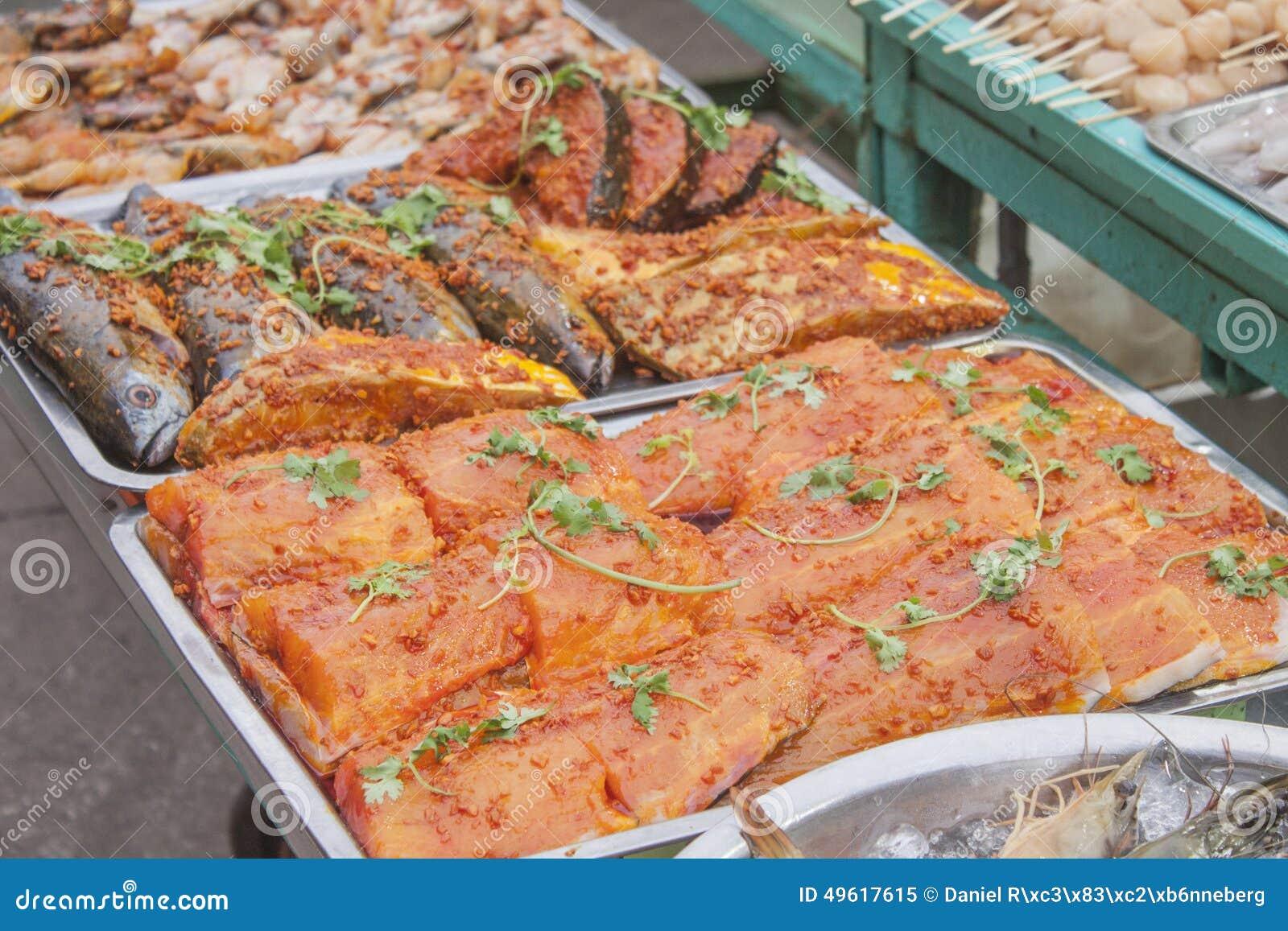 Marinated рыбы