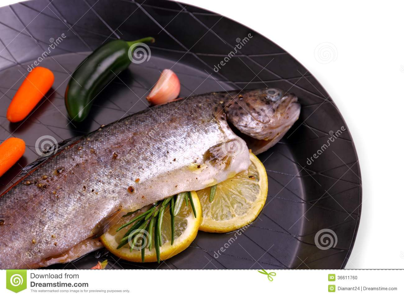 Panfried Trout With Lemon Recipe — Dishmaps