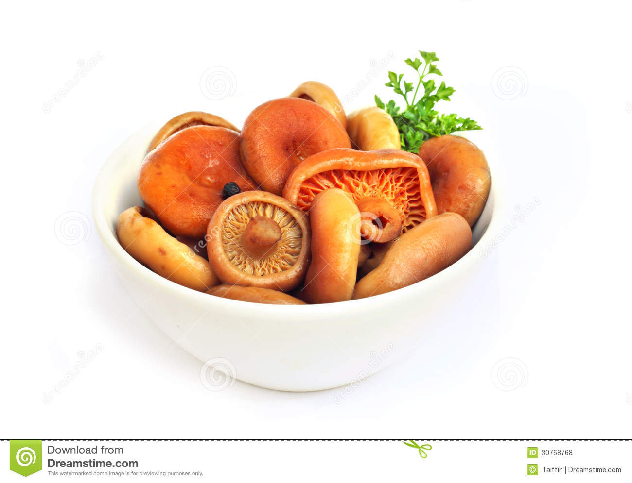Marinated Saffron Milk Cap Mushrooms Royalty Free Stock Photos - Image ...