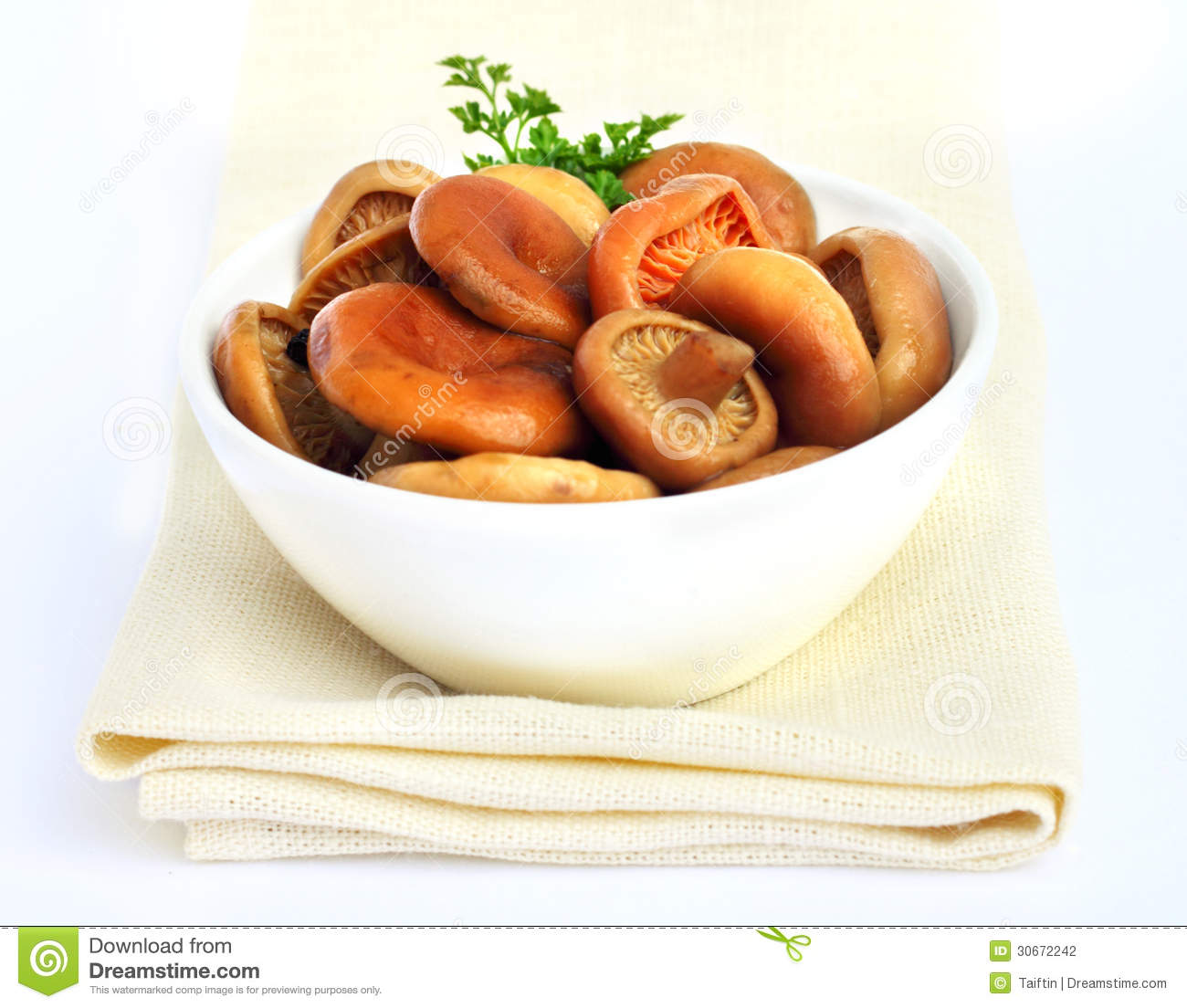 Marinated Mushroom Caps Recipe — Dishmaps