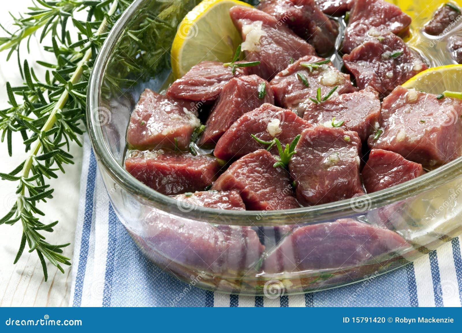 Marination de la viande