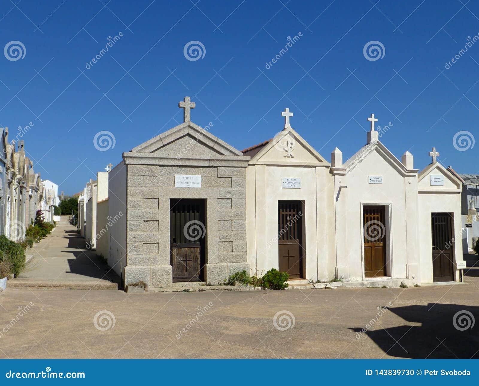 Marine Cemetery de Bonifacio