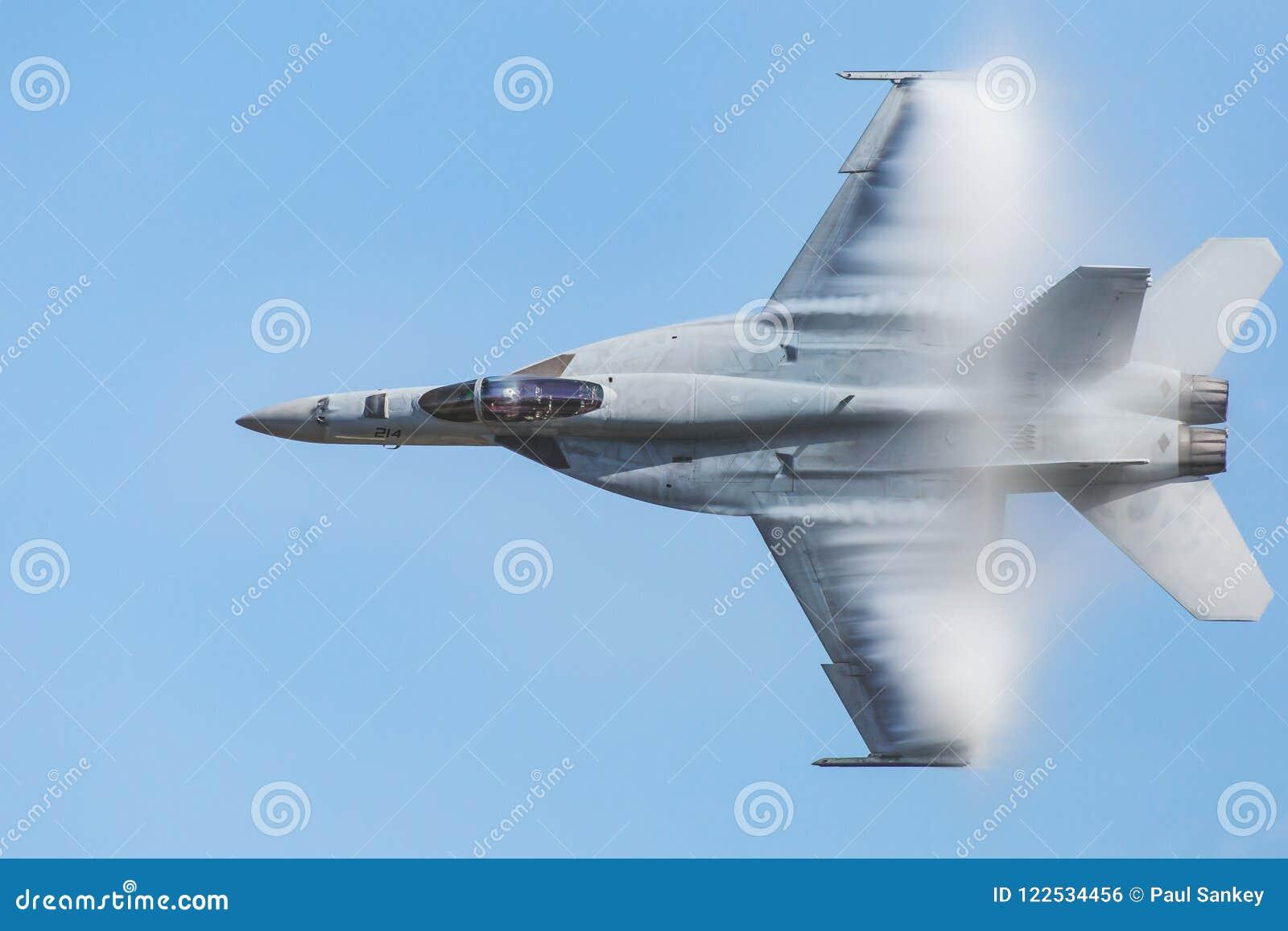 Marine F-18 van Verenigde Staten Super Horzel