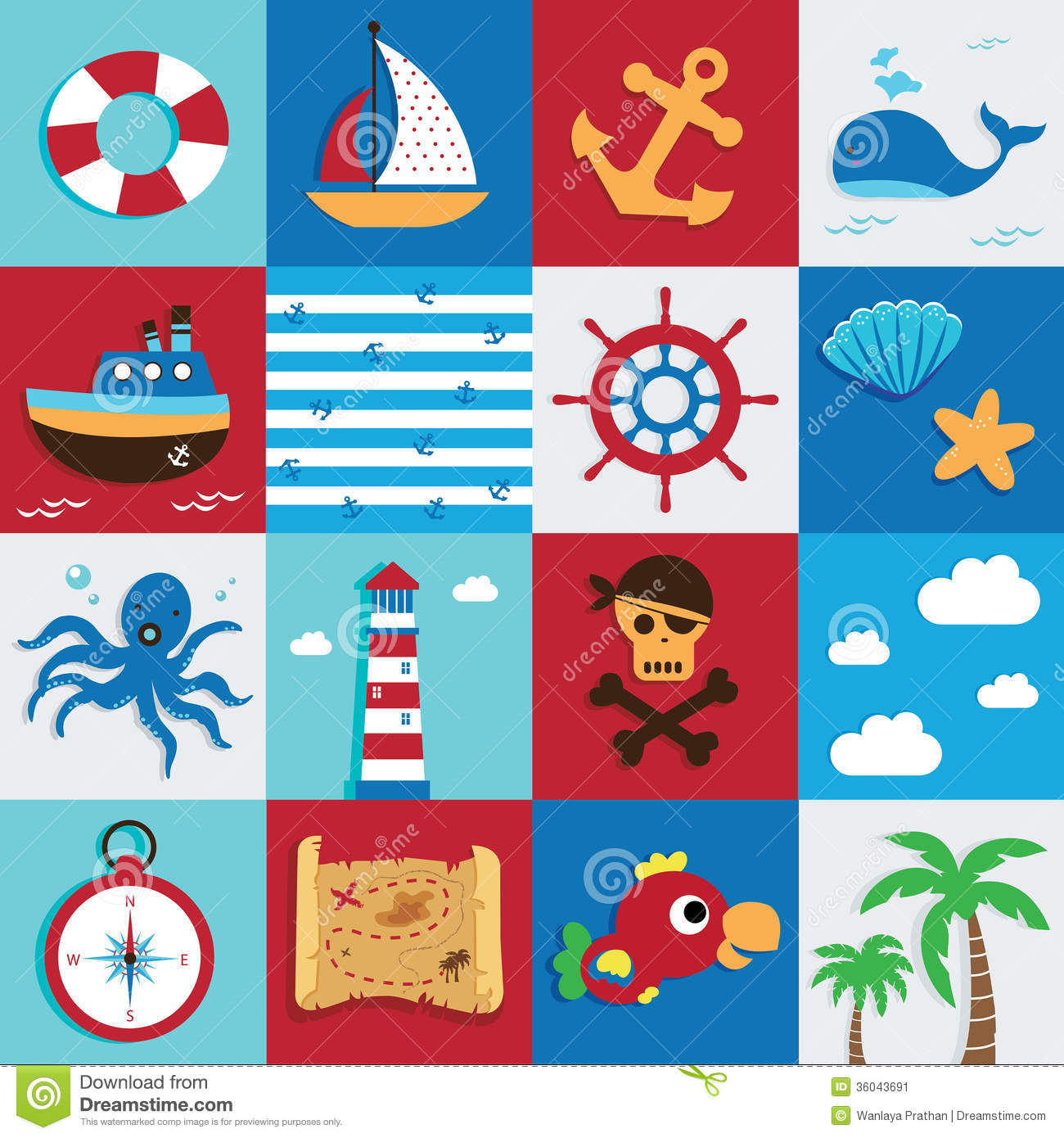 Marine icon stock vector. Image of collection, steering ...