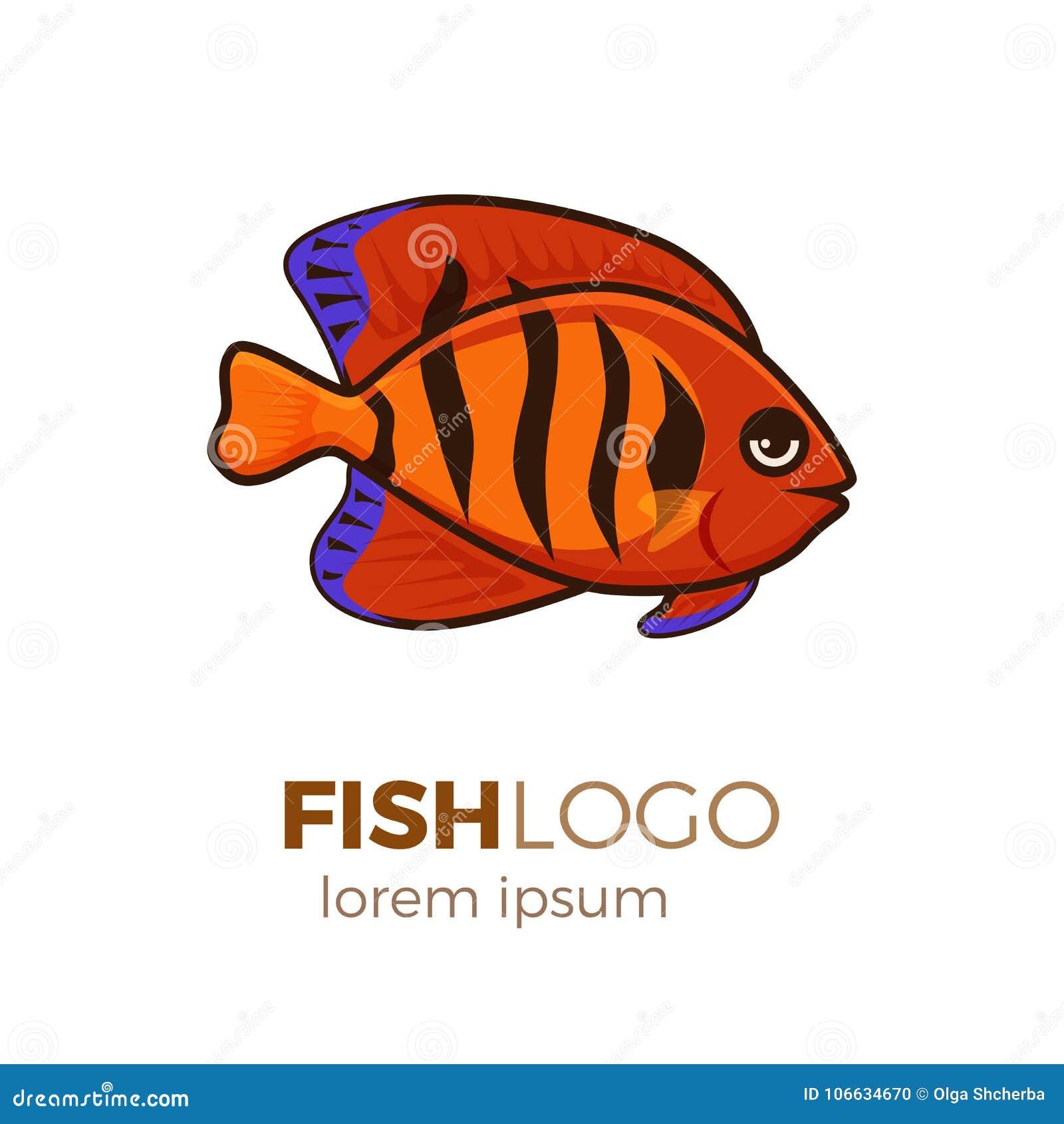 Cute Fish Vector Illustration Icons Set. Tropical Fish, Sea Fish ...