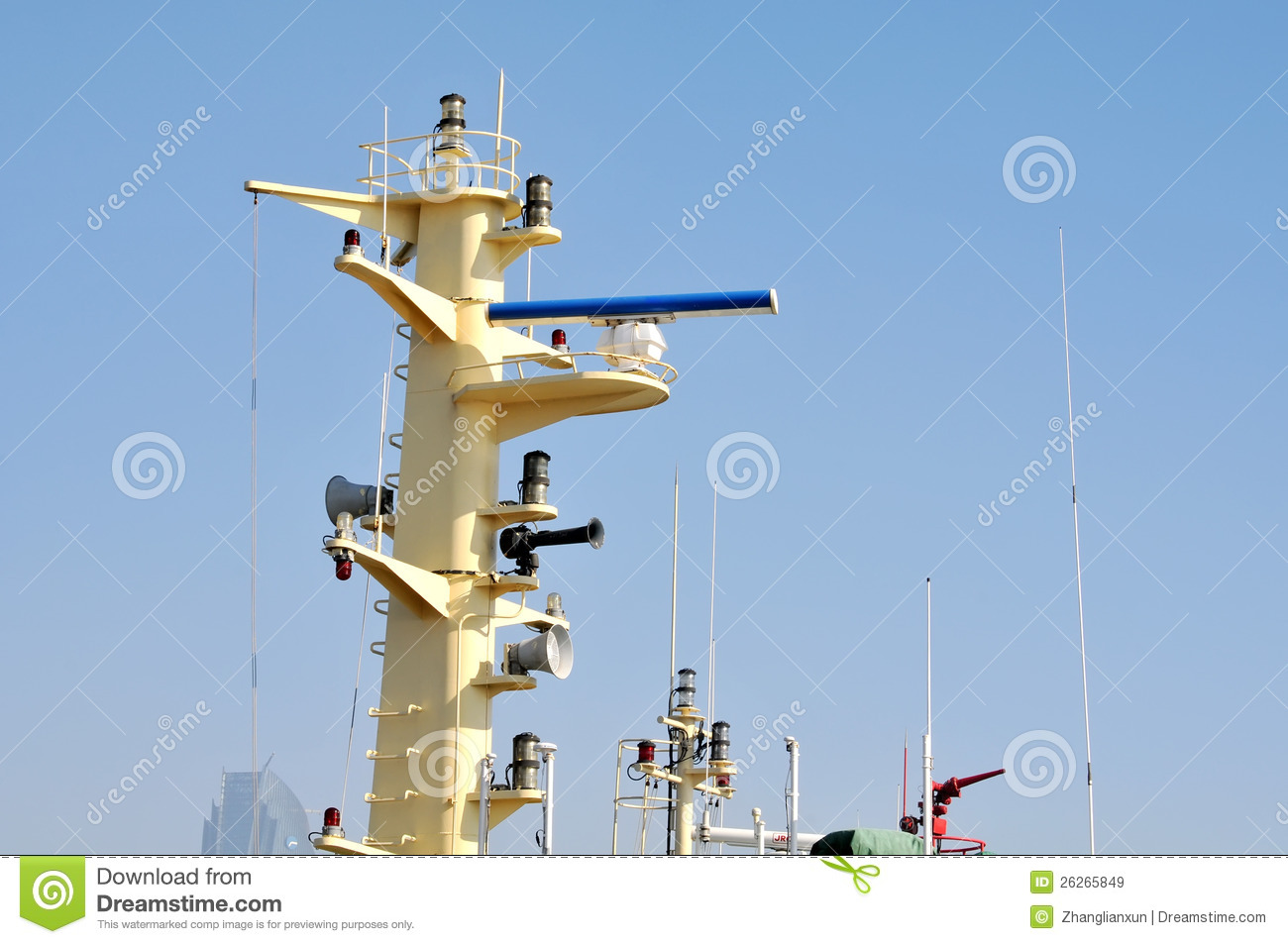 Marine Radar Royalty Free Stock Images - Image: 26265849