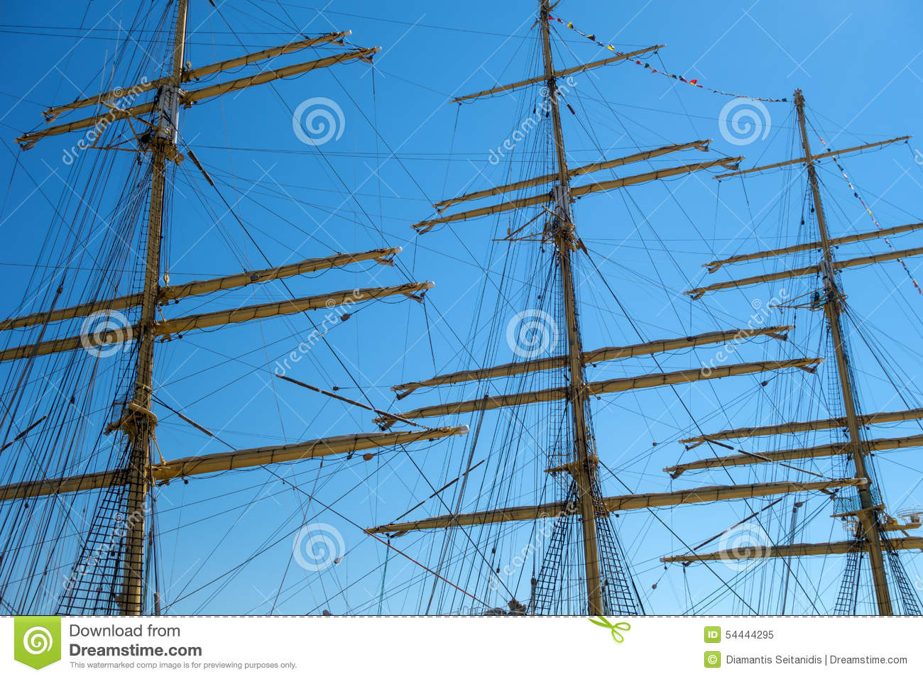 Marine Rope Ladder At Pirate Ship Stock Image - Image: 54444295 for Rope Ladder Ship  110ylc