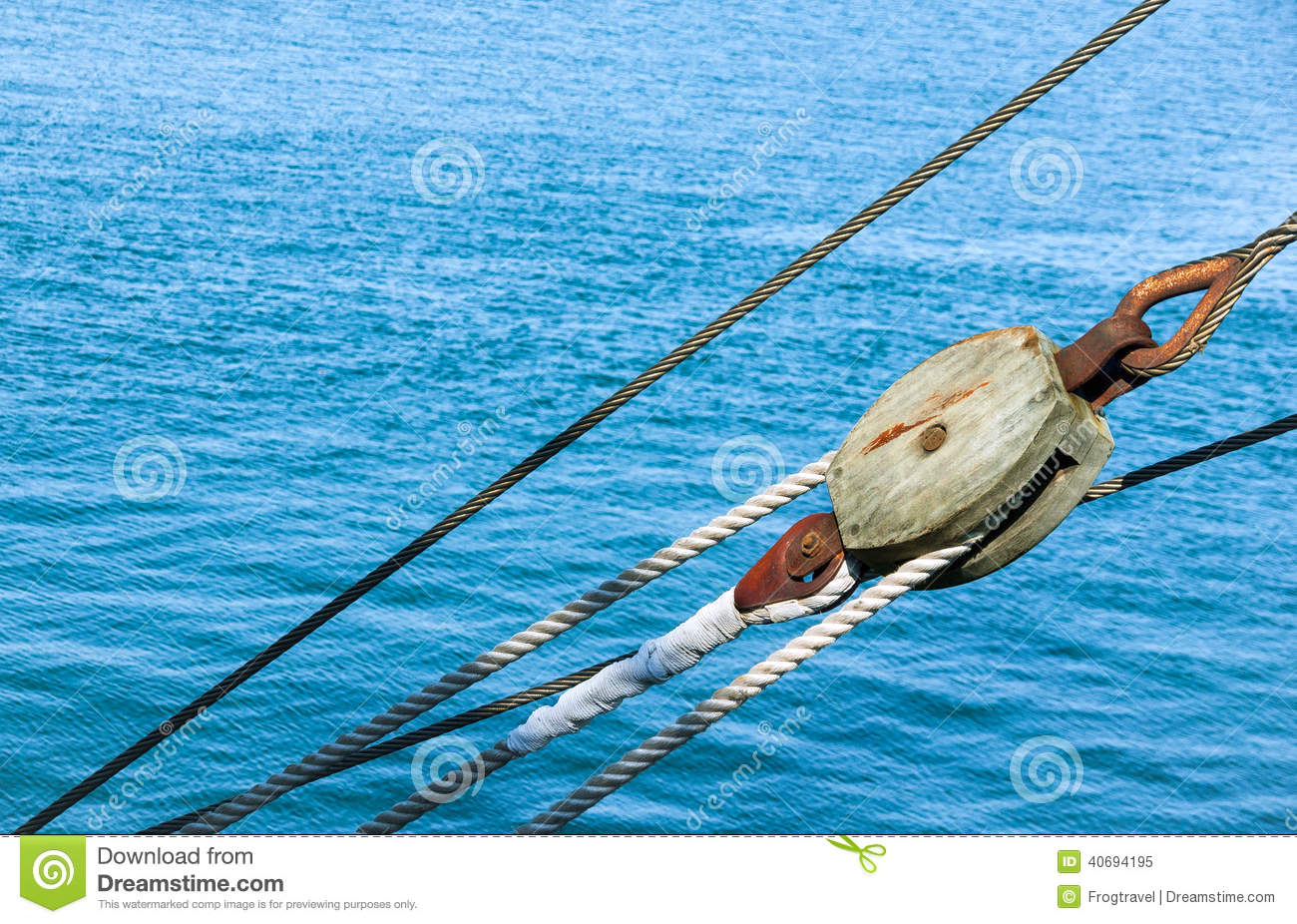 Marine ropes stock image. Image of antique, ropes, boat - 40694195