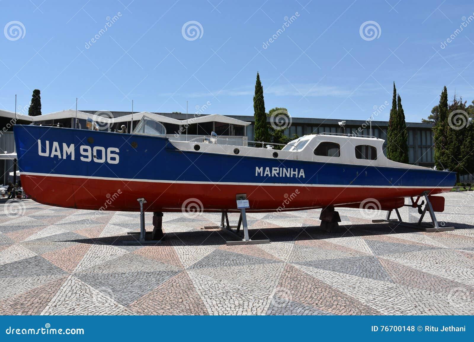 Marinmuseum (Museu de Marinha) i Lissabon, Portugal