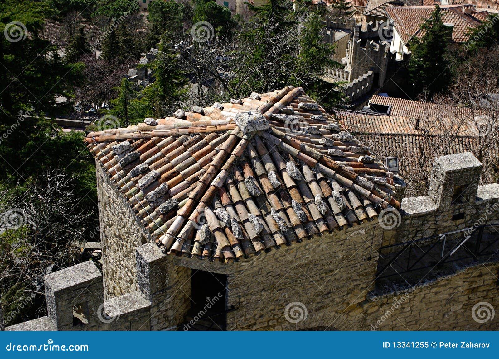 Marino republiki San widok