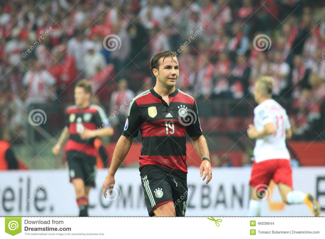 Mario Gotze editorial stock image  Image of player, professional
