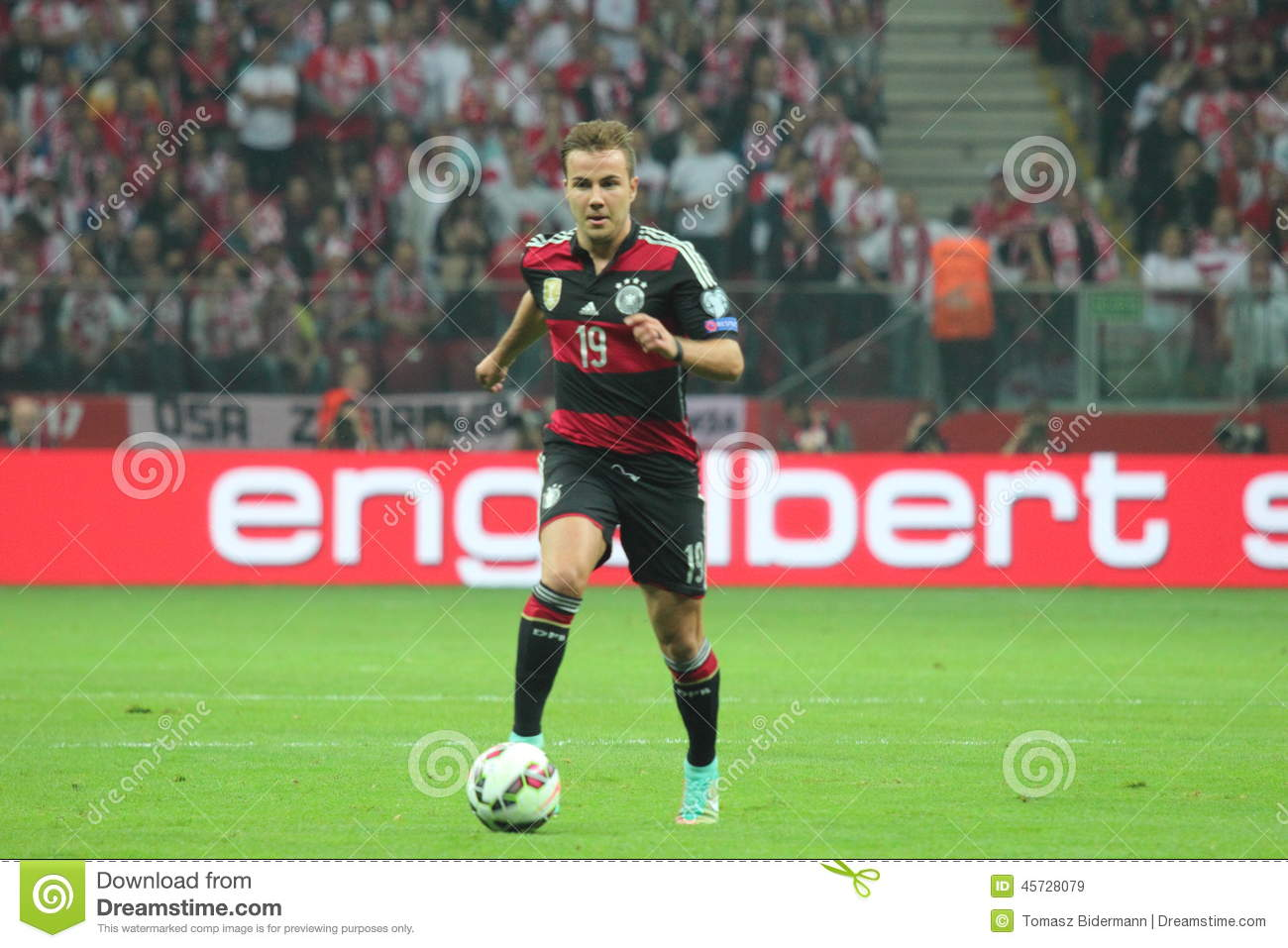 Mario Gotze editorial stock image  Image of germany, young - 45728079