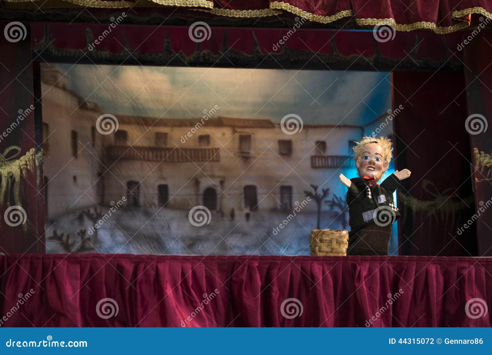 Marionetkowy przedstawienie