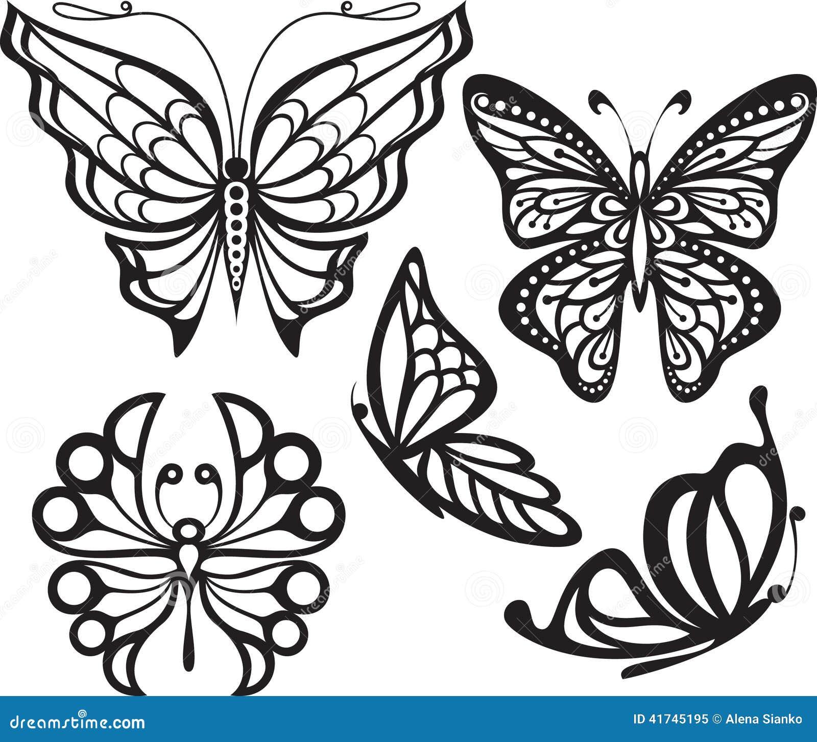 Dibujos De Mariposas Para Tatuar - Galerie Tatouage