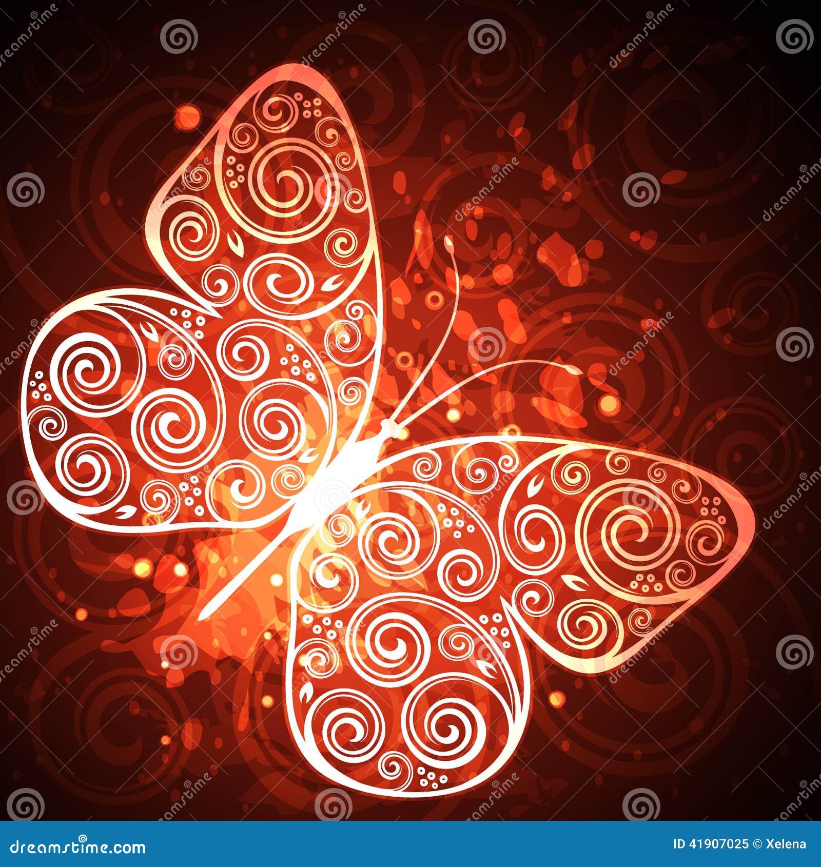 Mariposa floral
