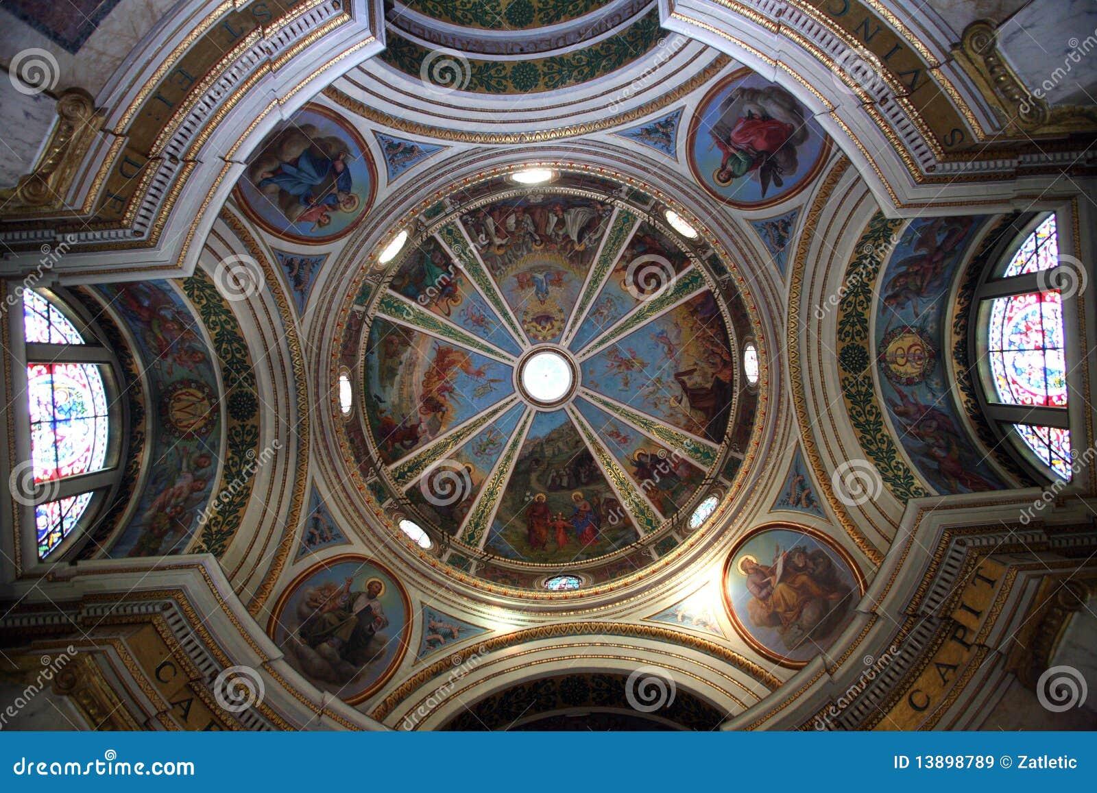 Maris stella купола церков