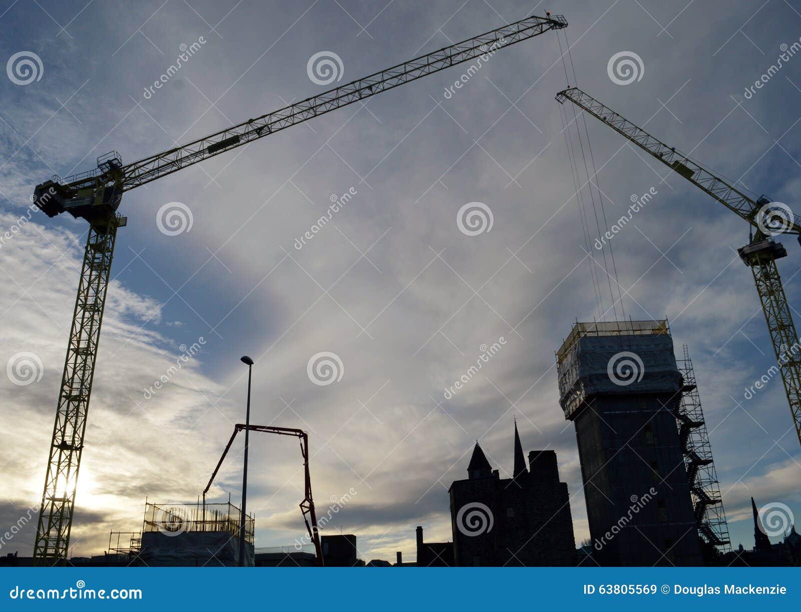 Marischal广场发展,阿伯丁,苏格兰