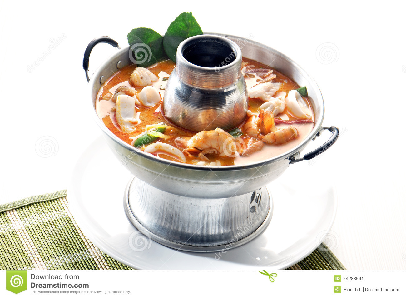 Marisco de Tom Yum