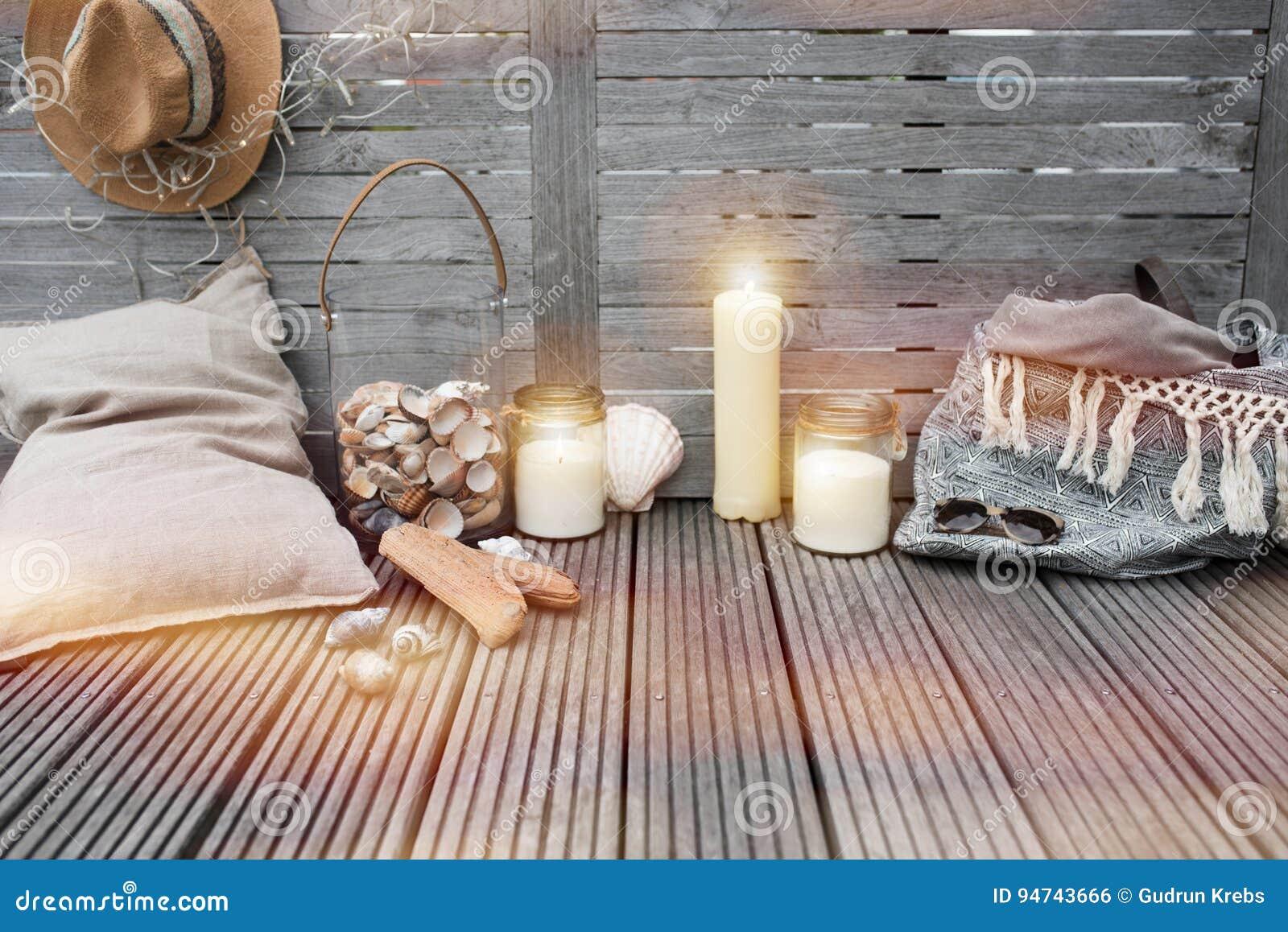 Maritieme decoratie op hout stock foto afbeelding bestaande uit