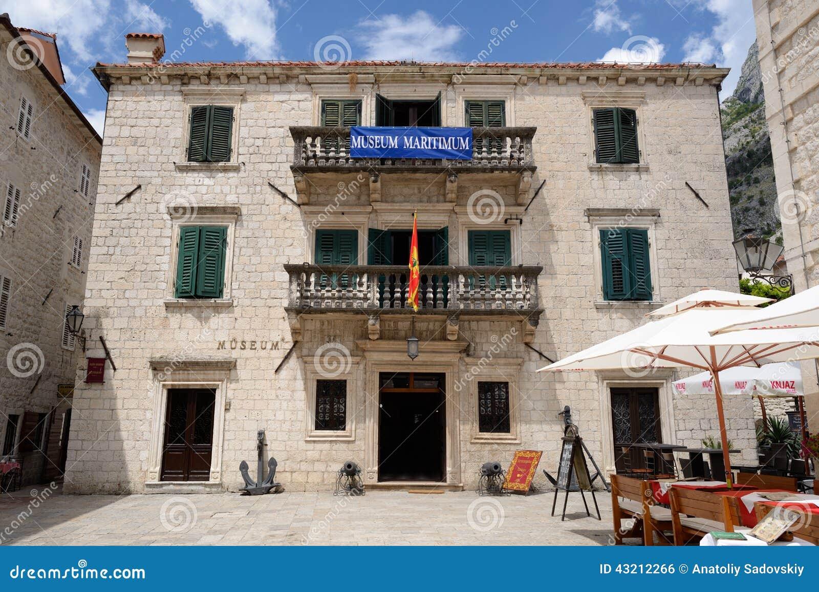 Maritime museum of montenegro in kotor editorial photo for Hotel design kotor