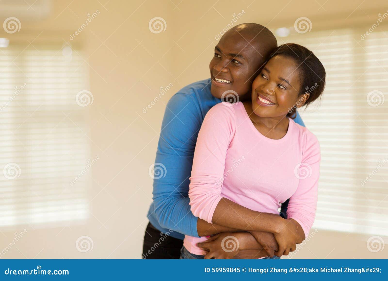 Marito e moglie africani